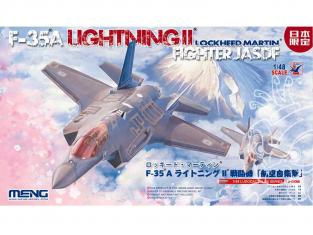 Meng maquettes avions Ls-008 F-35A LIGHTNING II FIGHTER JASDF 1/48