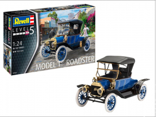 Revell maquette voiture 67661 Model Set Ford T Roadster (1913) 1/24