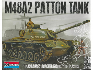 REVELL US maquette militaire 7853 M-48 A-2 Patton Tank 1/35
