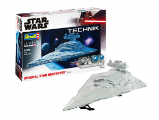 revell maquette 00456 Imperial Star Destroyer Technik 1/2700