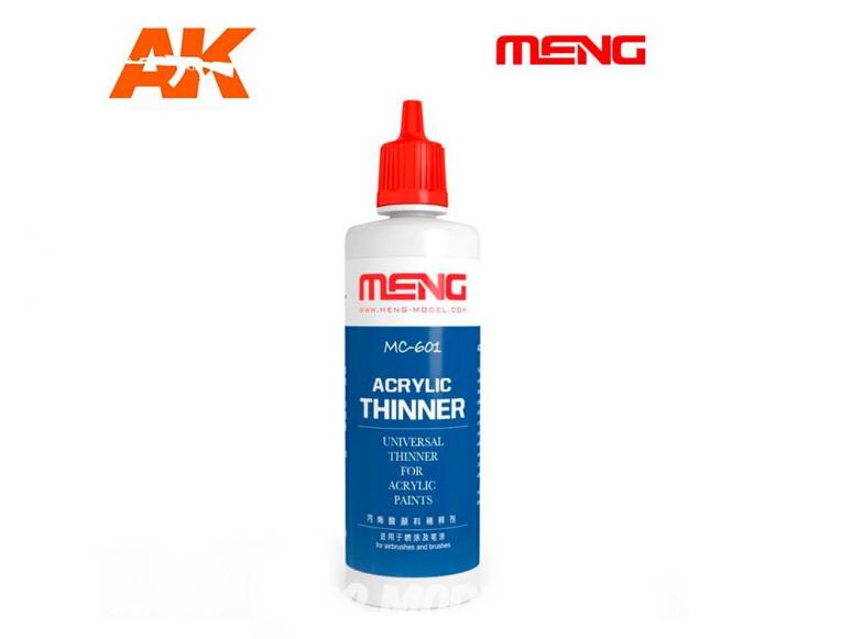 Meng Color peinture acrylique MC-601 Diluant acrylique 100ml