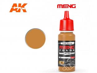 Meng Color peinture acrylique MC-008 Orange clair 17ml