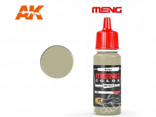 Meng Color peinture acrylique MC-012 Beige 17ml