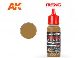 Meng Color peinture acrylique MC-014 Jaune foncé 17ml