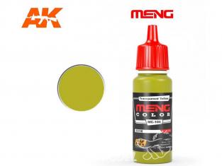 Meng Color peinture acrylique MC-106 Jaune transparent 17ml