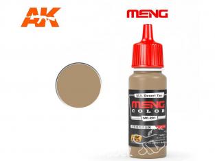 Meng Color peinture acrylique MC-201 U.S. Desert Tan 17ml