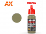 Meng Color peinture acrylique MC-206 Khaki 17ml