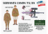 IBG maquette militaire 35056L CANON DE 75MM mod. 1897/38 ARMÉE FRANÇAISE 1940 avec 4 figurines et caisses de munitions 1/35