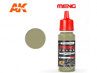 Meng Color peinture acrylique MC-241 Jaune grisâtre 17ml