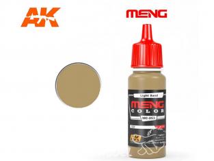 Meng Color peinture acrylique MC-253 Sable clair 17ml