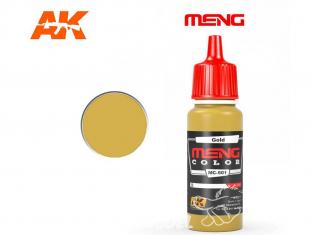 Meng Color peinture acrylique MC-501 Or 17ml