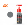 Meng Color peinture acrylique MC-508 Acier 17ml