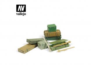 Vallejo Bases de diorama SC222 BSet Panzerfaust 60 M 1/35