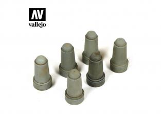 Vallejo Bases de diorama SC217 Bornes Urbaines set 2 1/35
