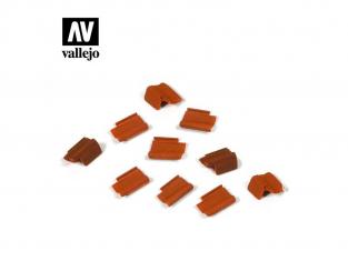 Vallejo Bases de diorama SC229 Set de tuiles 1/35