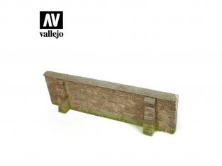Vallejo Bases de diorama SC109 section Mur de Normandie 1/35