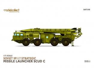 Modelcollect maquette militaire 72185 Lanceur de missile stratégique 9P117 (SCUD C) 1/72