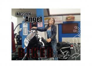 American Diorama figurine AD-23916 Motarde Angel 1/24