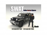 American Diorama figurine AD-77469 SWAT Team - Flash 1/24