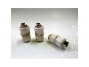 American Diorama accessoire AD-23988 Set 3 bouteilles de gaz 1/24