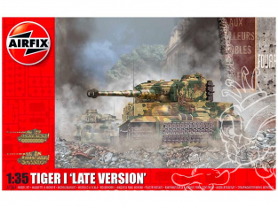 Airfix maquette militaire A1364 Tiger I Late Version 1/35