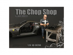 American Diorama figurine AD-38260 Chop Shop - Mr. Frabricator 1/24
