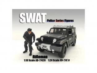 American Diorama figurine AD-77470 SWAT Team - Rifleman 1/24