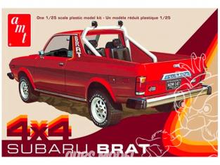 AMT maquette voiture 1128 1978 Subaru Brat 1/25