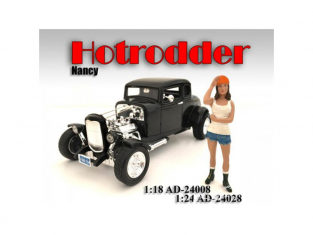 American Diorama figurine AD-24028 Hot Rodder - Nancy 1/24