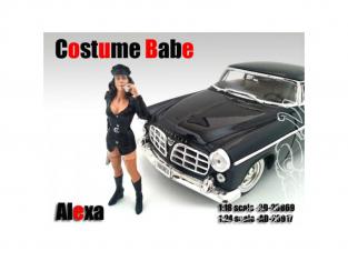 American Diorama figurine AD-23917 Costume Babe - Alexa 1/24