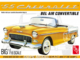 AMT maquette voiture 1134 1955 Chevy Bel Air Convertible 1/16