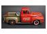 """AMT maquette voiture 1144 Camionnette Ford F-100 """"Coca-Cola"""" de 1953 avec machine à coke moulée et chariot 1/25"""