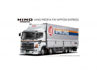 Aoshima maquette camion 02841 Hino Profia FW Nippon Express 1/32