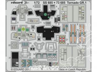 Eduard photodecoupe avion 73685 Amélioration Tornado GR.1 Italeri 1/72