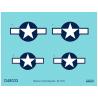 Eduard Decalques avion D48033 Insignes nationaux P-51D 1/48
