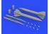 Eduard kit d'amelioration avion brassin 648501 Missiles Kh-23M 1/48