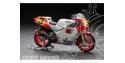 Hasegawa maquette moto 21503 YAMAHA YZR500 1988 1/12