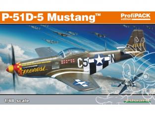 EDUARD maquette avion 82101 P-51D-5 ProfiPack Edition 1/48