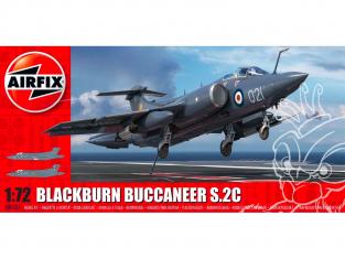 Airfix maquette avion A06021 Blackburn Buccaneer S Mk.2 RN 1/72