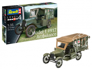 Revell maquette militaire 03285 Model T 1917 Ambulance 1/35