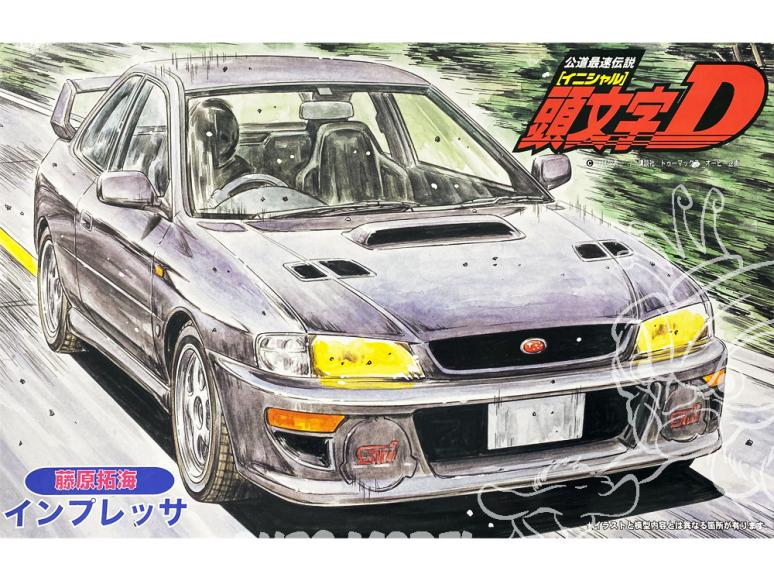 Fujimi maquette voiture 18353 Subaru Impreza Initial D 1/24