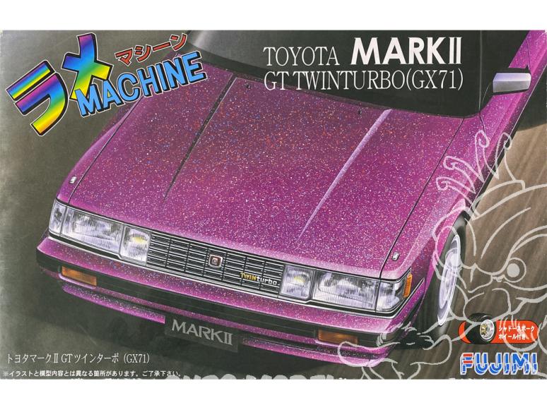 Fujimi maquette voiture 189185 Toyota Mark II GT Twin Turbo GX71 1/24