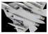 Zvezda maquette avion 7319 Chasseur russe Su-57 de cinquième génération 1/72