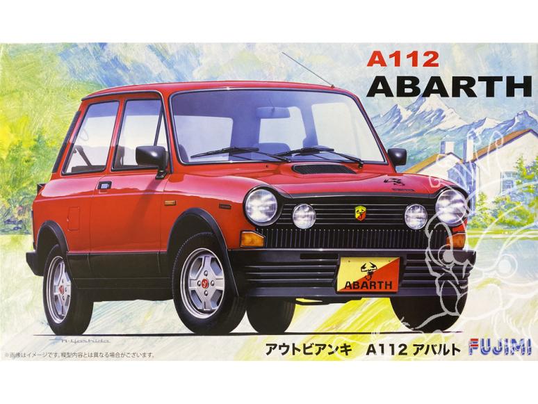 Fujimi maquette voiture 126173 Abarth A112 1/24