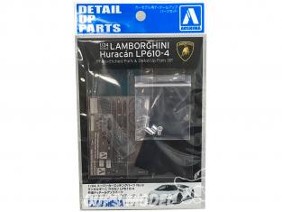 Aoshima maquette voiture 17081 Kit d'amélioration Lamborghini Huracan LP610-4 1/24
