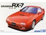 Aoshima maquette voiture 55496 Savanna Mazda RX-7 FC3S 1989 1/24
