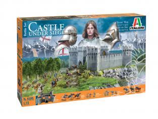 Italeri maquette 6185 Château sous siège Guerre de 100 ans 1337/1453 Battle set 1/72