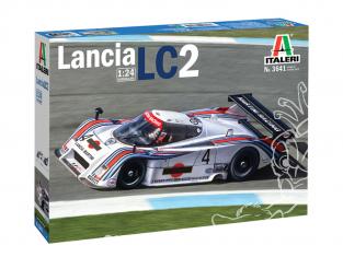 Italeri maquette voiture 3641 LANCIA LC2 1/24