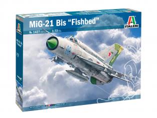 Italeri maquette avion 1427 MiG-21 Bis ''Fishbed'' 1/72