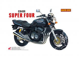 Aoshima maquette moto 42151 Honda CB400 Super Four 1/12